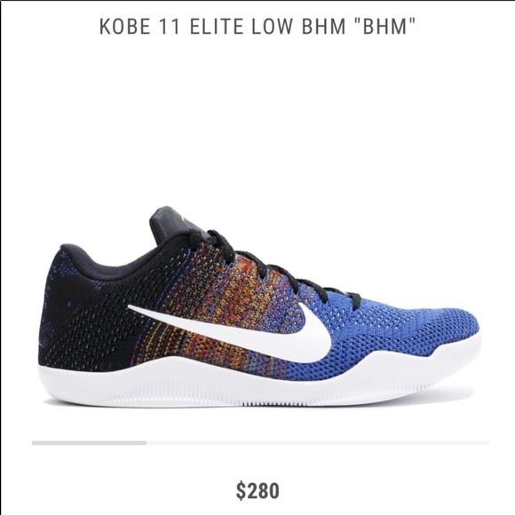 check out 89b57 86822 Kobe 11 Elite Low BHM. M5c38debf12cd4a47a6f885e5